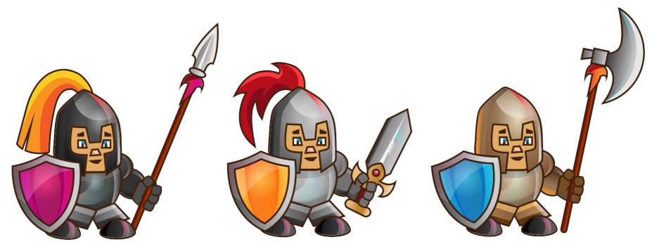 knight drawing tutorial