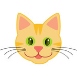 Cute Cat Drawing for Kids