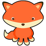 Fox Coloring for Kids
