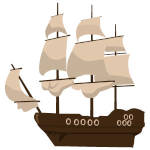 Pirate ship drawing tutorial