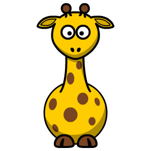 Giraffe Coloring for kids