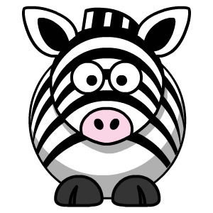 Zebra Drawing for Kids