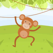 Monkey Coloring Game